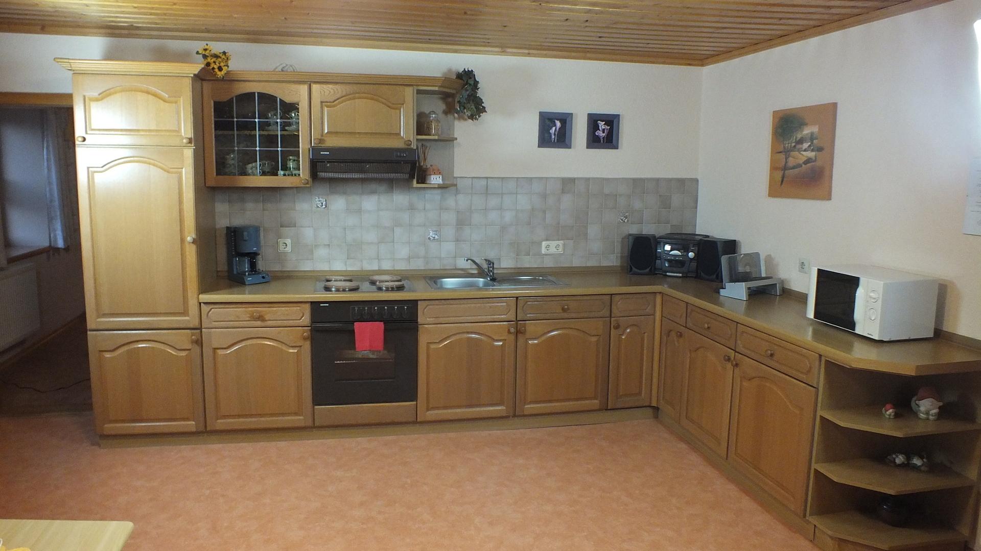 Ferienwohnung Maiglöckchen 3 - Küche