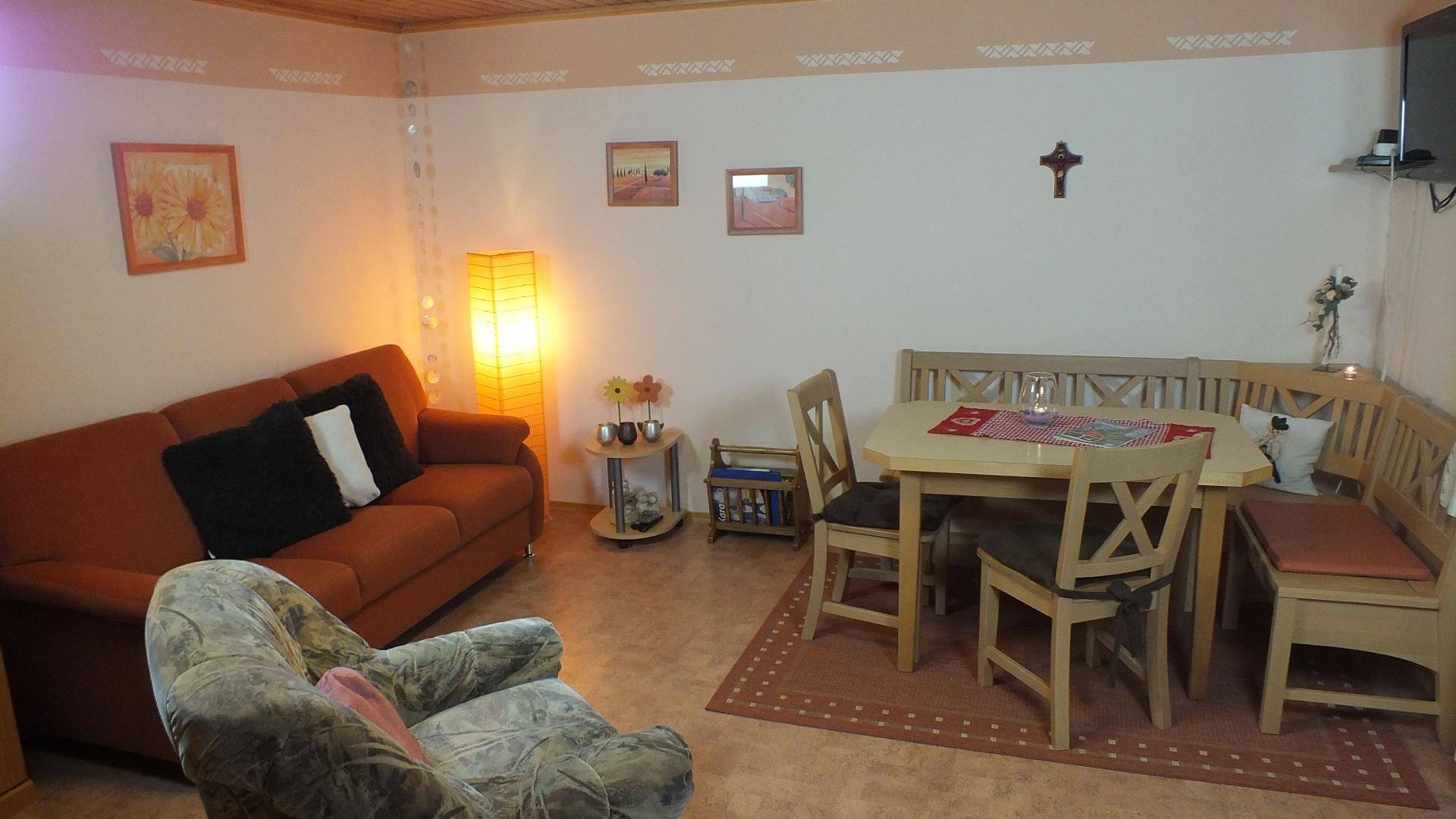 Ferienwohnung Morgenrot 1 - Wohnküche