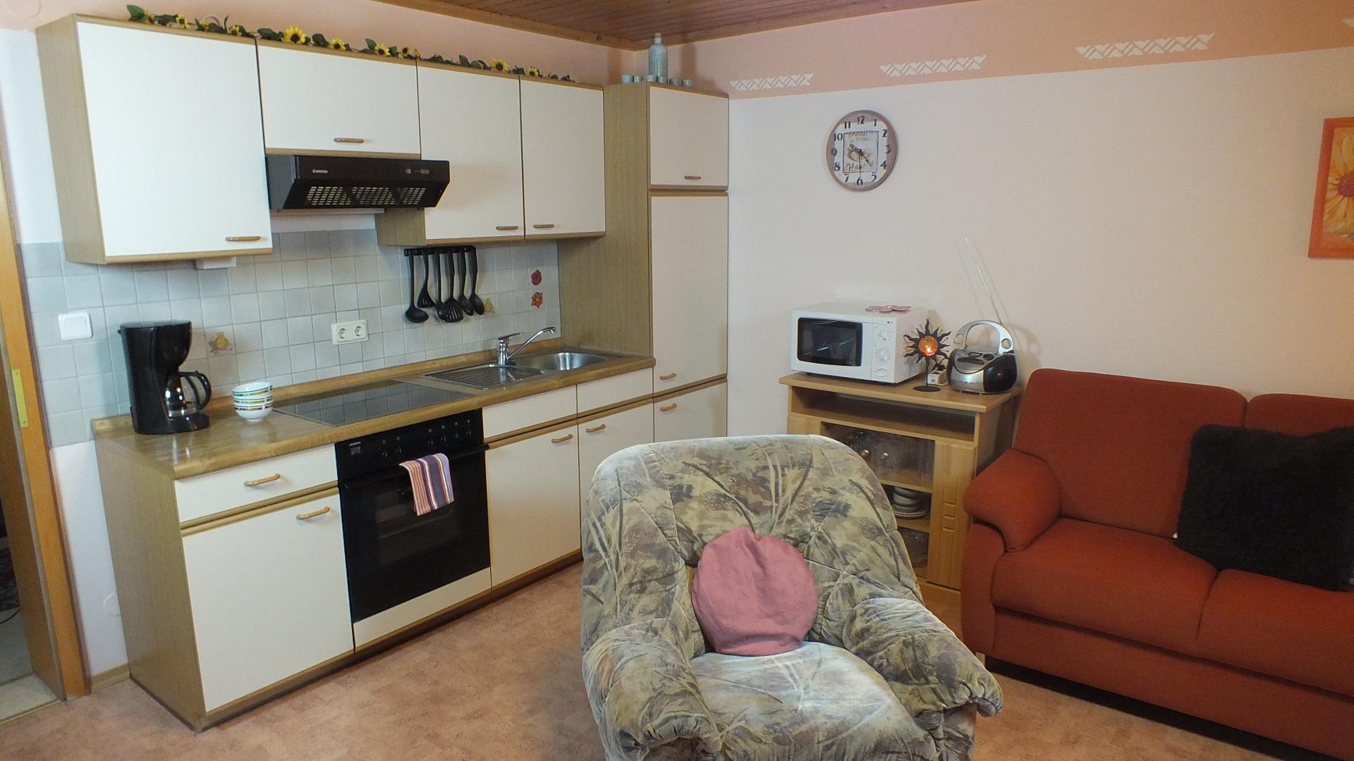 Ferienwohnung Morgenrot 3 - Küche